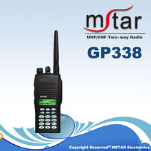 Handheld interphone GP338 UHF/VHF two way radio
