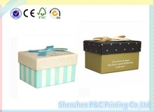 High quality paper gift packaging box manufacturer