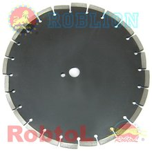 12'' Wet Cut Diamond Blade for General Purpose Cutting of Green Concrete with Soft to Hard Aggregate, also for Asphalt --COGC