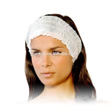 desechables no tejidos spa bandas para la cabeza para las mujeres