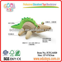 Wooden Toy Animal - Toy Crocodile