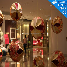 Christmas ball ornament,indoor atrium shopping mall decoration