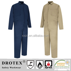 FR Cotton One Piece Winter Suit for Oil Gas Industry
