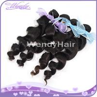 Peruvian french curl hair bundles natural hair weaves for black women