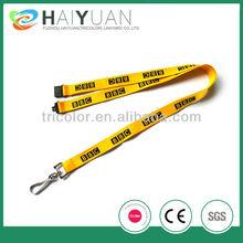 safety buckle lanyard/printed safety lanyard