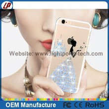 Newest Rhinestone bling case 3d case cell phone case for iphone 6