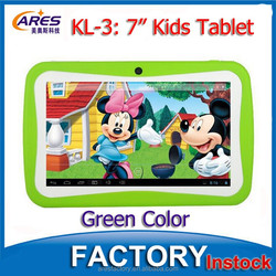 """New Better Quad Core Processor 7"""" Inch HD Capacitive Screen 512MB 8GB Android 4.4 Tablet For Kids"""