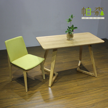 restaurant soft fabric covered wood dining chair for restaurant /cafe shop