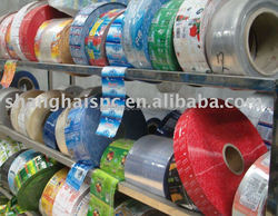 Supply PVC / PET Clear Film printing sleeve label