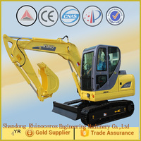 Chinese small machine for building and construction, mini crawler excavator, 0.25 cbm digging bucketwith 39.8 KW engine