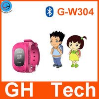 36.9$/pc GH G-T304 gps tracking bracelet for children with bluetooth and anti-fall off alarm