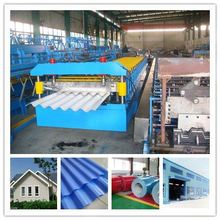 roofing corrugated galvanised sheets roll forming steel roof panel roll former