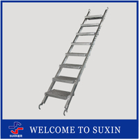 SUXIN Brand scaffodling hot dip galvanized Q235 steel scaffolding ladder clamp