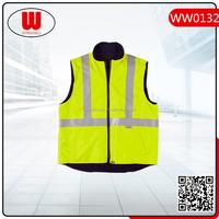 high visibility reflective cheap formal waistcoat