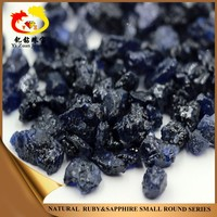 Free sample wholesale blue blocky shaped rough sapphire