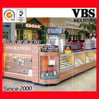 Attractive high quality mall kiosk for cell phone showcase