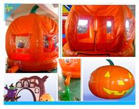 giant halloween decoration inflatable pumpkin//inflatable pumpkin bouncer