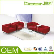 Modern Functional Red Fabric Sofa Corner Lounge Sale