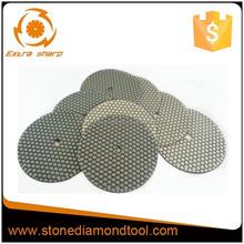 7'' Dry Diamond Hand Polishing Pads for Concrete,50grit