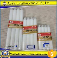 14g candela bianca in magazzino 14g chiesa candela nel prezzo di fabbrica