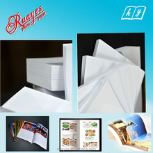 Hot sale c2s art paper 250gsm , A4 double-side glossy art paper for book & magazine cover