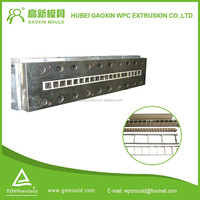 2015 China Hubei Durable New Technology Plastic Extrusion Mold with heaters for WPC plywood Wood Plastic Products Factory