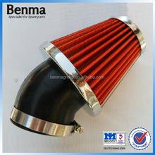 OEM quality motorcycle air filter sponge 35mm 43mm 45mm 48mm,OEM modify parts filter for motorcycle, Mushroom type air filter