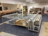 China Curtain fabric cutting table