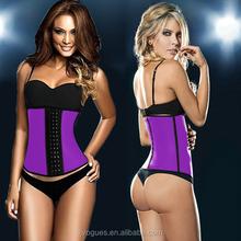 weight loss corset for women Sexy Latex slimming underbust fat burning waist Cincher corsets Wholesale trining fajas