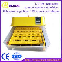 incubadora de codornices COMPLETAMENTE AUTOMÁTICO incubadora 120 huevos