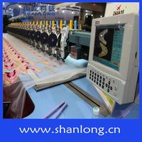 Multi needle cap sewing embroidery machine control system A68EB