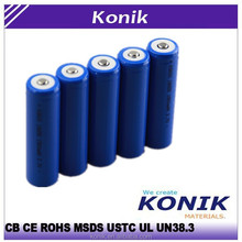 2015 Top rated 18650 rechargeable li ion battery 18650 3.7v 2200mah