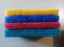 nylon scouring pad/polyester scouring pad/thick scouring pad