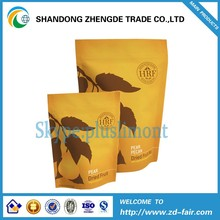 Stand Up Resealable Bags For Packing Plastic Fruit Dried Food