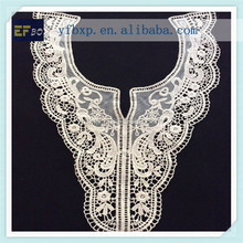 2015 newest hand Crocheted Cotton Lace Collar embroidered lace collar neck / collar lace for Neck Designs