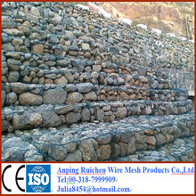 Factory! Gabion box/Hexagonal wire mesh/Gabion Mesh For River with best price and quality