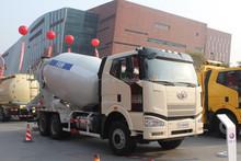 FAW J6 eruo 4 350hp 6*4 second hand concrete mixer trucks for sale
