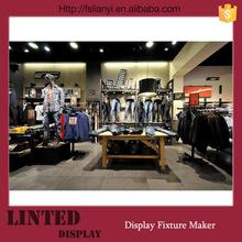 Hot shop interior design/shop fitting/clothes shop decoration