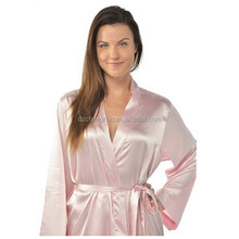 pink disposable spa robes