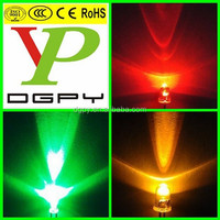 led diodes 3mm 5mm 12v red green yellow blue orange white ( CE & RoHS Compliant )
