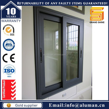 2015 new product modern aluminum sliding window