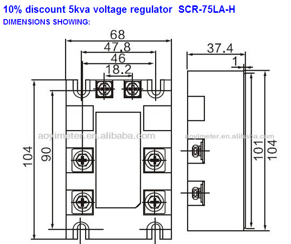 high voltage 380vac 4