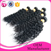 afro kinky curly 100% indian human hair extensions, raw virgin indian hair curly, indian curly virgin hair