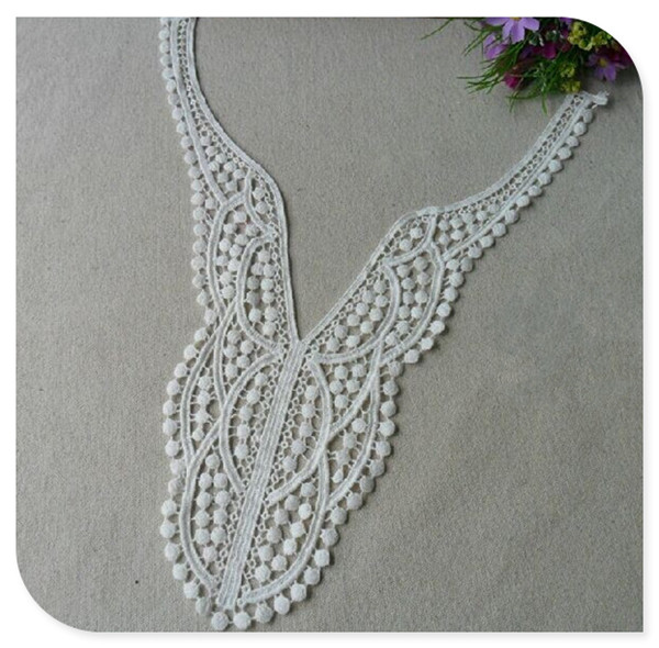 Patterns for Free Ladies Suit Neck /Collar Lace Designs,Embroidery /Embroidered Lace Collar Necklace,Cotton Crochet Lace Collar