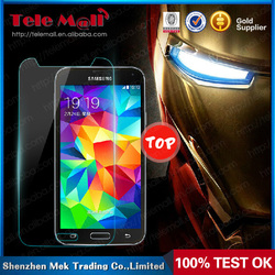 2015 Hot 0.26mm 9H Tempered Glass Screen Protector,clear screen protector for Samsung S5