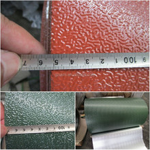 Aluminum Foil rolls PE and Epoxy back coated and stucco embossed metal