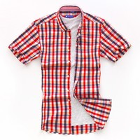 wholesale china factory button down check latest formal shirt designs for men