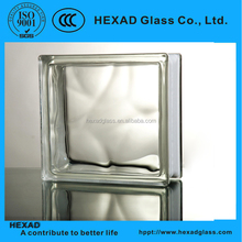 Hexad Colored Decorative Glass Block, Building Glass Block