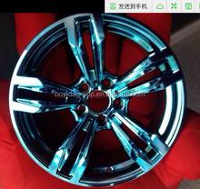 Alloy Wheel Rim, blue car rims wheel