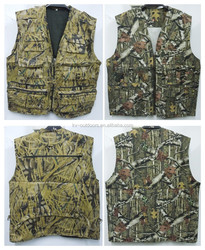 NEW Men Fishing Hunting Vest Waistcoat Camouflage Clothes Outdoor Photography multi pocket vest
